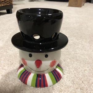Snowman Votive Melter